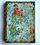 Papiernictvo - Záhrada radosti ♥  zápisník/diár s linajkovanými stranami - 6120649_