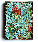 Papiernictvo - Záhrada radosti ♥  zápisník/diár s linajkovanými stranami - 6120650_