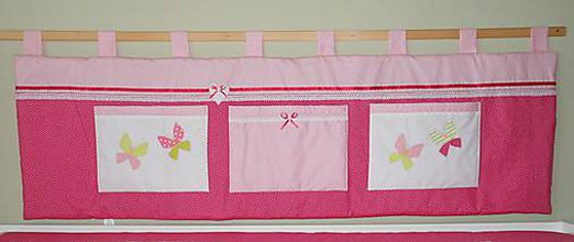 Úžitkový textil - Zástena Ružovo-biela 165 - 6126104_