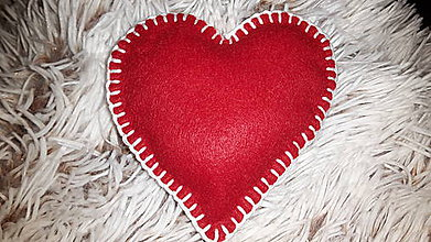 Dekorácie - Ako láska  - ozdoba na vianočný  stromček - 6127178_
