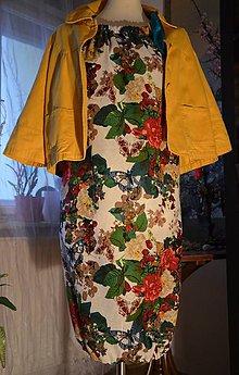 Šaty - Šaty růže a motýli - 6126709_