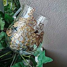 Nádoby - Ručne maľovaný jubilejný pohár  - 6123492_