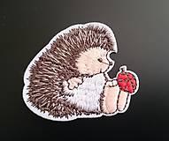 Aplikácia - nažehlovačka ježko