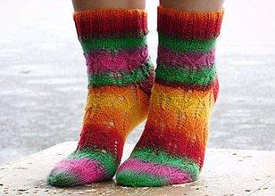 Obuv - dúha- s pravej ponožkovej (v.38-40) - 6125348_
