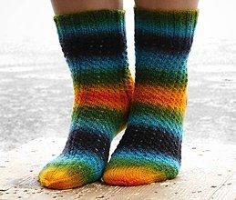 Obuv - letná dúha - s pravej ponožkovej (v.39-40) - 6125549_