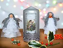 Svietidlá a sviečky - Vianočná sviečka - 6125432_