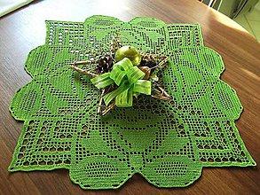 Úžitkový textil - *** zelený zvončekový *** - 6131919_