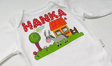 Detské oblečenie - Body s menom - 6129783_