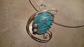 Náhrdelníky - ..DaiSy .. náhrdelník - 6131955_