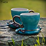 Elfská  láska - sada dvoch šálok na kávu (picollo)