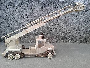 Hračky - veľké požiarne auto - 6130788_