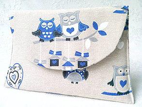 Taštičky - BonBon pochette (Owls in Love) - 6137397_