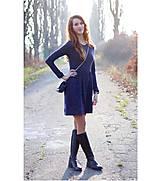 Šaty - Svetríkové šaty city love - 6135753_