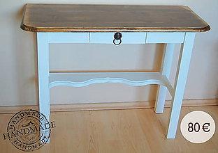 Nábytok - Príručný stolík Wenge - 6135703_