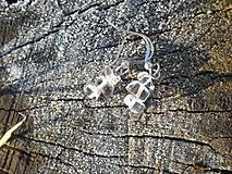 Náušnice - krištáľové krásky II - 6136805_