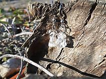 Náušnice - krištáľové krásky II - 6136807_