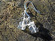 Náušnice - krištáľové krásky II - 6136809_