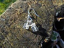 Náušnice - krištáľové krásky II - 6136815_