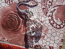 Náušnice - krištáľové krásky II - 6136820_