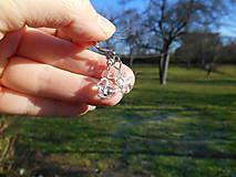 Náušnice - krištáľové krásky II - 6136821_