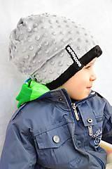 zimná čiapka silver&black (bez Bambule)