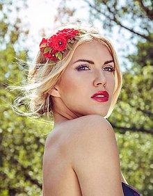 Ozdoby do vlasov - Little Roses by Hogo Fogo - 6135180_