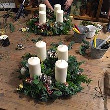 Kurzy - WORKSHOP(kurz) na výrobu Adventného/Vianočného  venca - 6139118_