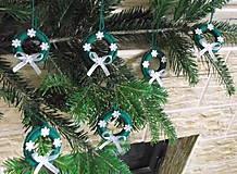 Dekorácie - 6 Vianočných ozdôb - 6139570_