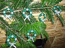 Dekorácie - 6 Vianočných ozdôb - 6139571_