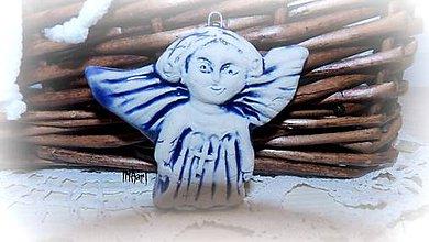 Dekorácie - Starosvetský anjelik - 6141604  ffebcf39b38