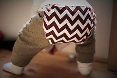 Detské oblečenie - Nohavice cik-cak - 6139334_