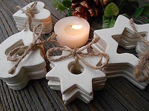 Dekorácie - Vianočné ozdoby - čisté/sada 20 ks - 6139028_