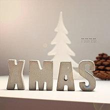 Tabuľky - Betónové Vianoce - 6139423_