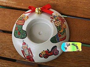 Svietidlá a sviečky - Svietnik Ruské Vianoce - 6143904_