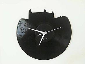 Hodiny - Bratislava Castle clear- vinylové hodiny - 6145749_