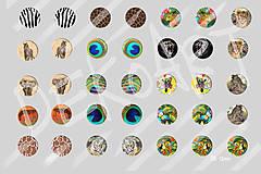 Materiál ručne robený - Motívy na šperky č.39-akcia na všetky motívy 4+1zdarma - 6144652_