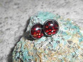 Náušnice - mini brincos com granada - 6144441_