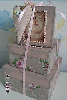 Drobnosti - krabičky balerine... - 6144937_