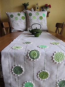 Úžitkový textil - ide sa po zelenej a režnej... - 6143241_