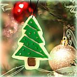 - Svietiaca vianočná dekorácia - vianočný stromček - 6145742_