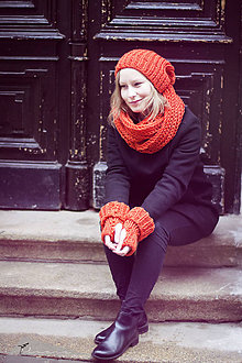 Čiapky - Chic&orange (set) - 6146671_