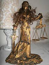 Socha - Bohyňa spravodlivosti-JUSTÍCIA- keď spravodlivosti nie je nikdy dosť - 6148522_