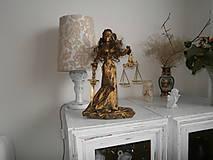 Socha - Bohyňa spravodlivosti-JUSTÍCIA- keď spravodlivosti nie je nikdy dosť - 6148629_