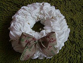 Dekorácie - Vianočný venček - 6149974_