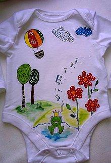 Detské oblečenie - Spev pri jazierku - 6147189_