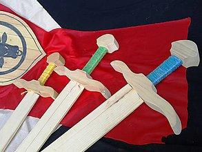 Hračky - Meč drevený - 6148646_