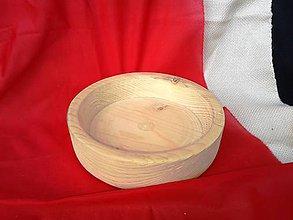 Nádoby - ručne točená drevená miska - 6148713_