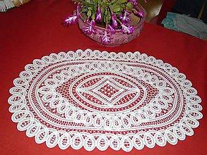 Úžitkový textil - HAND MADE čipka 1. - 6150582_
