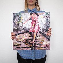 Obrazy - Život gombička I. 40x40, reprodukcia - 6151191_