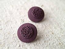 Sady šperkov - jednoduché fialové - 6152401_